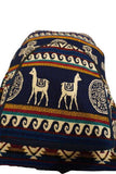 Blue, Beige, and Yellow Boho Backpack Ethnic Bag Tribal backpack Bohemian Travel Hippie Backpack School Backpack Boho Backpack Vegan Bag