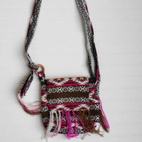 Adjustable Handmade Boho Handbag with fringes / Crossbody Bag/ Ethnic Tribal Handbag