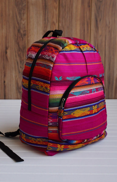 Plum Big Backpack Ethnic Bag Tribal backpack Bohemian Backpack Travel Backpack Hippie Backpack School Backpack Boho Backpack