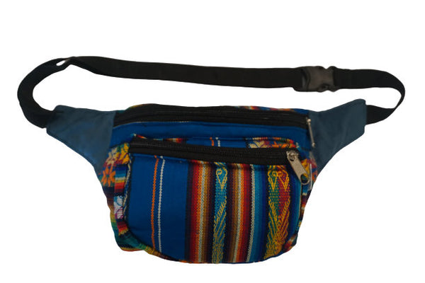 Fanny Pack | Fanny PackBoho Fanny Pack | Blue, Brown, and Orange Fanny Pack| Festival Fanny Pack | Hippie Waist Pack | Tribal Hip Bag