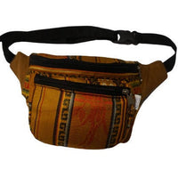 Fanny Pack | Birthday Gift for Her or Him | Hippie Boho Hip Bag | Mustard