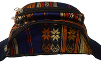 Fanny Pack | Gift for Her or Him |Hippie Hip Bag | Dark Purple Orange Multicolor | Halloween | Birthday Gift