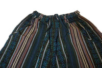 Bohemian Clothes | Boho Pants Size XXL | Mens Hippie Pants | Womens Pants | Dark Blue Black