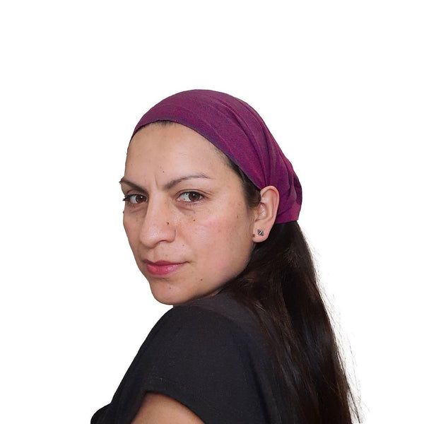 SMALL Headband | Headband | Boho Headband  | Fuchsia Wide Headband | Hippie  Yoga Hairband