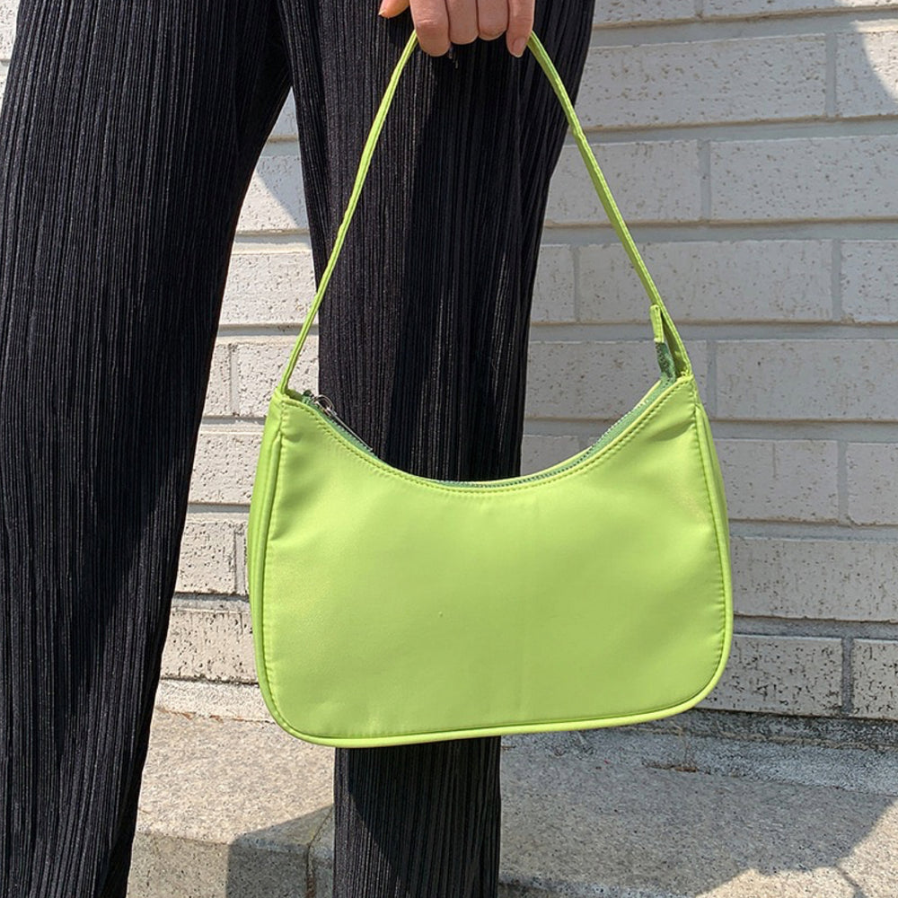 Load image into Gallery viewer, Sporty Spice Nylon Bag - Lime Green