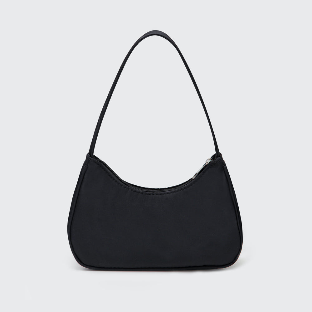 Sporty Spice Nylon Bag - Black
