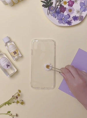 Load and play video in Gallery viewer, DIY Purple Floral Bouquet iPhone Case