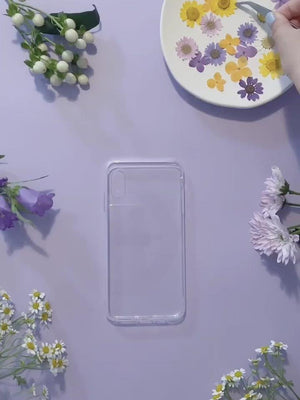 Load and play video in Gallery viewer, DIY Summer Flowers Iphone Case