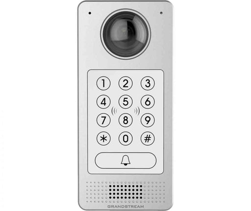 Grandstream HD IP Video Door System, 1080p Video, Built In RFID Chip Reader, Speaker & Microphone, Metal Casing, Powerable Via PoE