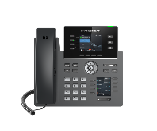 Grandstream GRP2614 4 Line IP Phone, 4 SIP Accounts, Colour Screen, BLF Keys, HD Audio