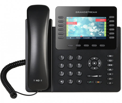 Grandstream GXP2170 12 Line IP Phone, 6 SIP Accounts, Colour Screen, HD Audio, Build In Bluetooth, Powerable Via POE