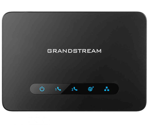 Grandstream HT812 FXS ATA, 2 Port Voip Gateway, Dual GbE Network