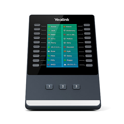 Yealink EXP50 Color-screen Expansion Module for Yealink T5 Series IP phones, including SIP-T58V/SIP-T58A/SIP-T56A