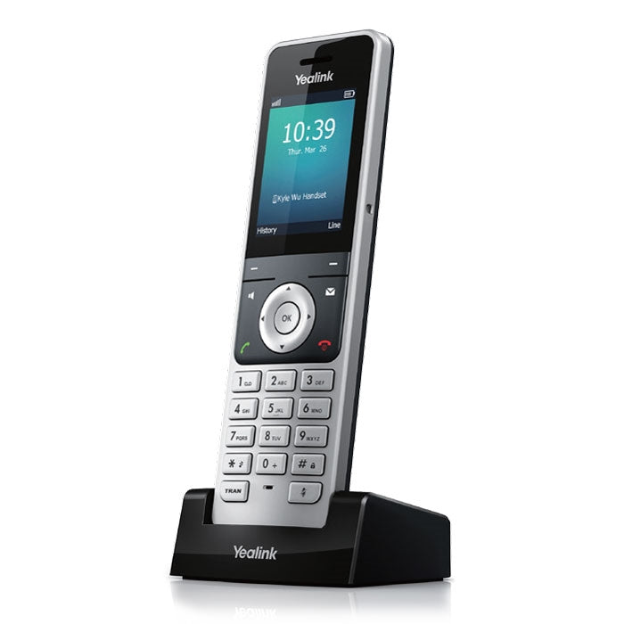 Yealink W56H Cordless DECT IP Phone Handset compatible with W60P IP-DECT Base Station (Handset only)