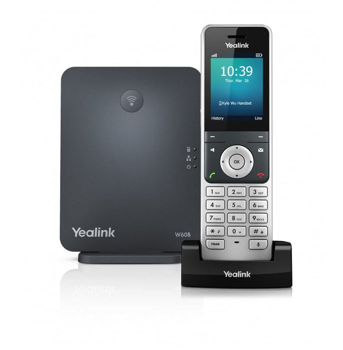 Yealink W60P Wireless DECT Solution including W60B Base Station and 1x W56H Handset