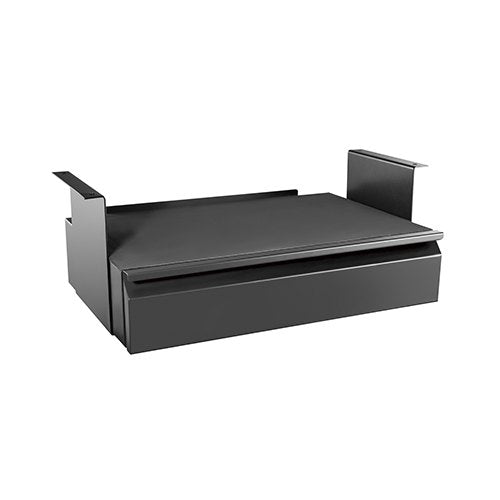 Brateck Space-Saving Under Desk Drawer CPU Holder with Shelf