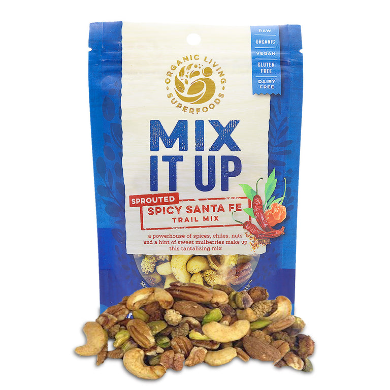 Organic Raw Sprouted Spicy Santa Fe Trail Mix