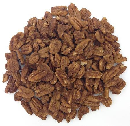 Organic Raw Sprouted Cinnamon Pecans