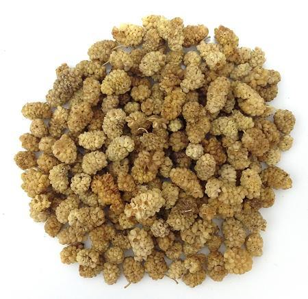 Organic Raw White Mulberries