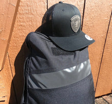 Load image into Gallery viewer, Leather Patch Hat - Black (Black Patch)