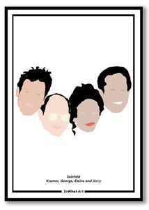 Seinfeld Illustration