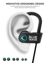 Load image into Gallery viewer, Blue Wave RU8 IPX7 Waterproof Earphones