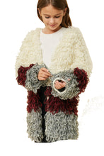 Load image into Gallery viewer, Shaggy sweater cardigan