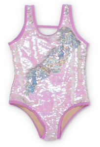 Sequined swimsuit