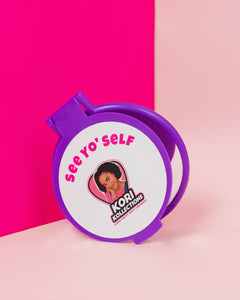 "🥰 ""See Yo' Self"" Compact Mirror - Kori Kollections"