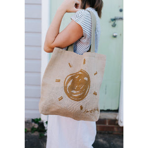 The Set - 5 Jute Grocery Bags