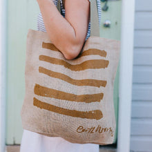 Load image into Gallery viewer, Jute Grocery Bag - Strength | Earth Worthy