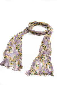 Beautiful floral design scarves for all year round