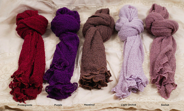 Handmade Knit Scarves
