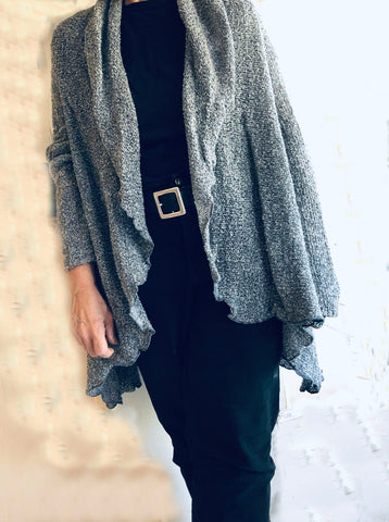 Waterfall Boucle Sweater