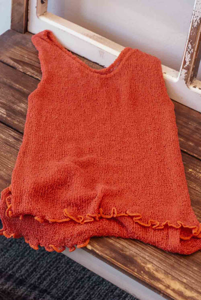 Knit Tank Top - Basic