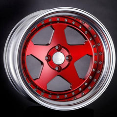 MCR -Silver Clear Red