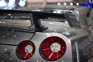 326POWER 3D☆STAR Boot Spoiler for Nissan R35 GT-R