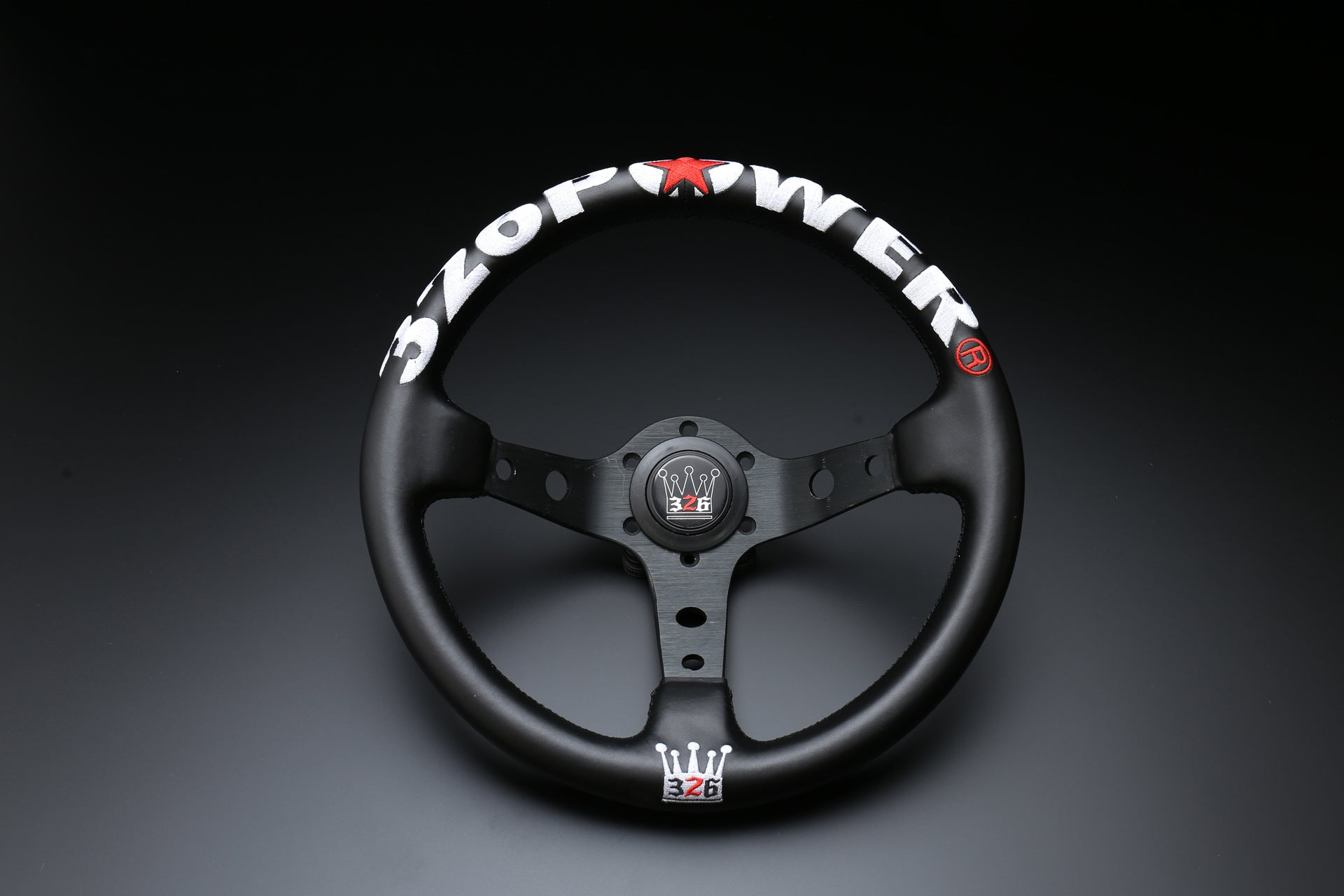 326POWER KING Rally Quick Steering Wheel