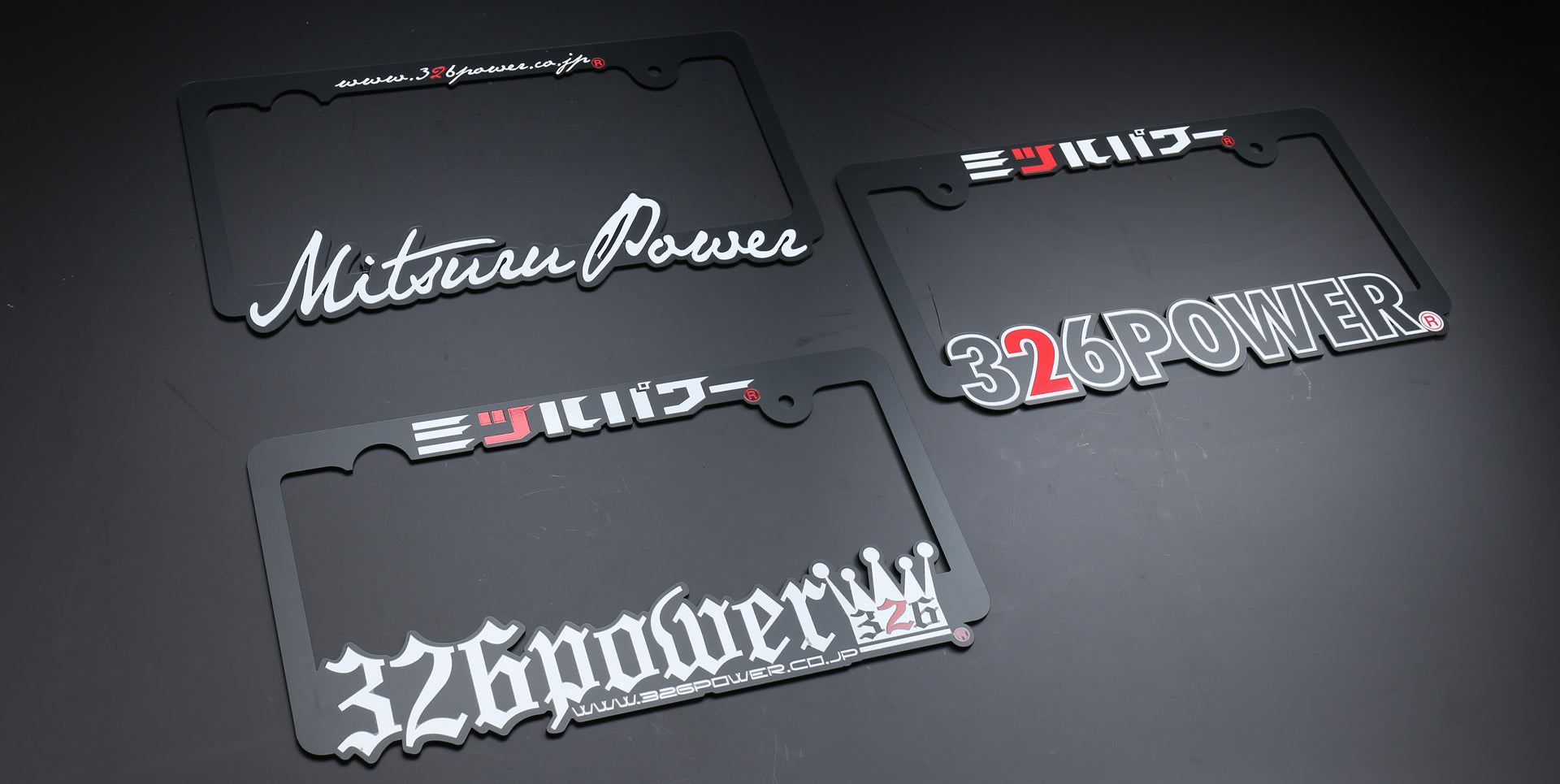 326POWER Number Plate Frame