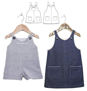 Ikatee London overalls dress