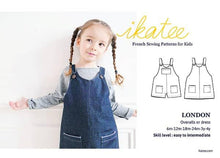 Load image into Gallery viewer, Ikatee London overalls dress