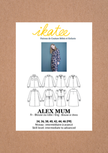 Load image into Gallery viewer, Ikatee Alex Mum dress