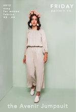 Load image into Gallery viewer, Friday Pattern Company Avenir jumpsuit