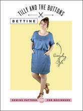 Load image into Gallery viewer, Tilly and the Buttons Bettine dress pattern