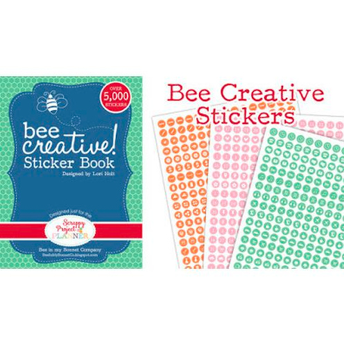 Bee Creative sticker book