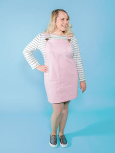 Tilly and the Buttons Cleo pinafore dress pattern