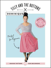 Load image into Gallery viewer, Tilly and the Buttons Dominique skirt sewing pattern
