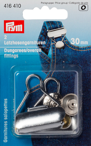 Prym dungaree fittings 30mm