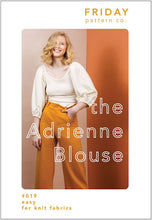 Load image into Gallery viewer, Friday Pattern Company Adrienne blouse