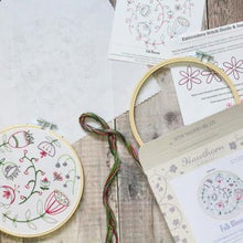 Load image into Gallery viewer, Hawthorne Handmade Folk Blossom Embroidery Kit